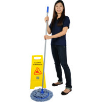 Disinfect while mopping
