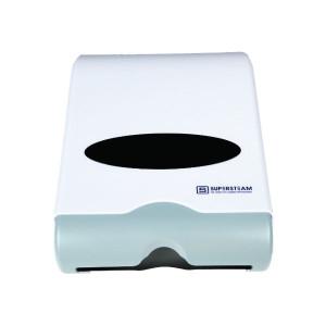 Elegance-M-Fold-Paper-Dispenser-White