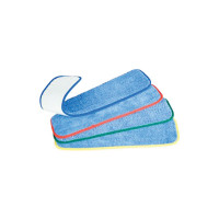 Colour coded and easily changeable microfiber pads