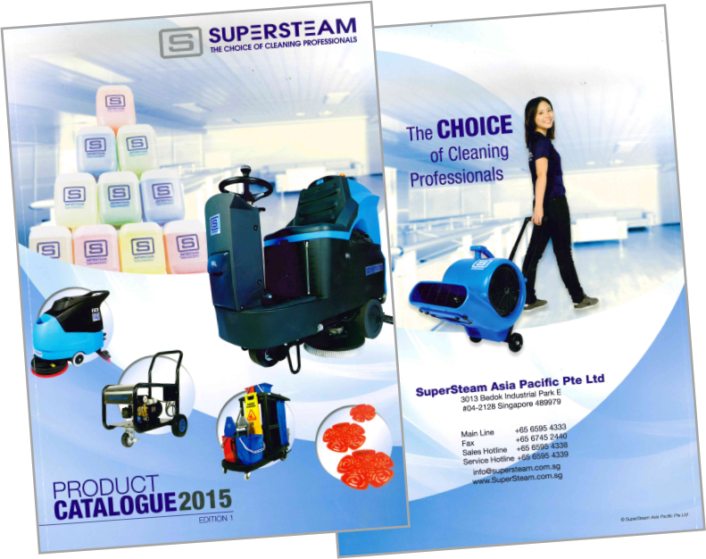 Grab your copy from your SuperSteam account manager / sales representative today!
