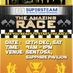 Supersteam amazing race